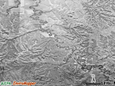 Porcupine satellite photo by USGS