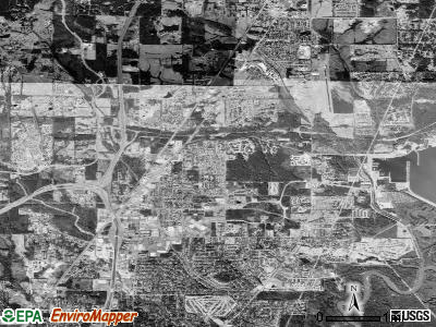 Ridgeland satellite photo by USGS