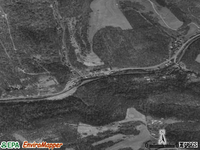 Valley Grove satellite photo by USGS