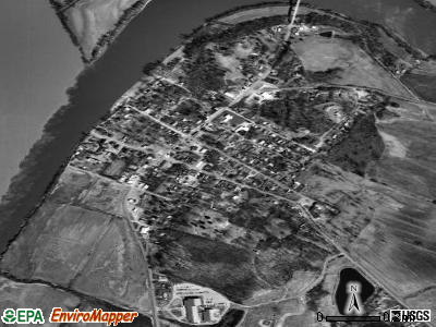 Smithland satellite photo by USGS
