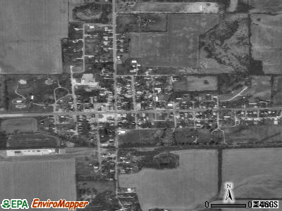 Lewisville satellite photo by USGS