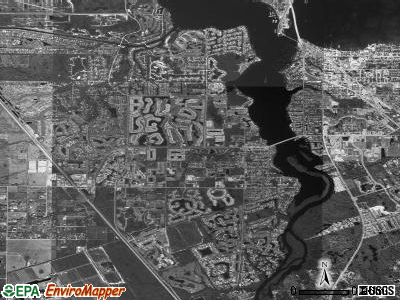 Palm City satellite photo by USGS