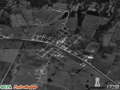 Buckholts satellite photo by USGS