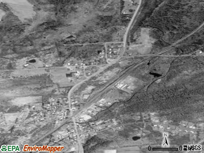 Delanson satellite photo by USGS