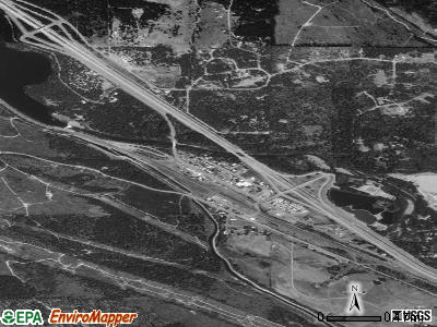 Sun River Terrace satellite photo by USGS