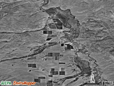 Marysvale satellite photo by USGS