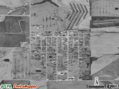 Gilman City satellite photo by USGS
