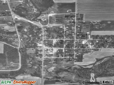 Wattsburg satellite photo by USGS
