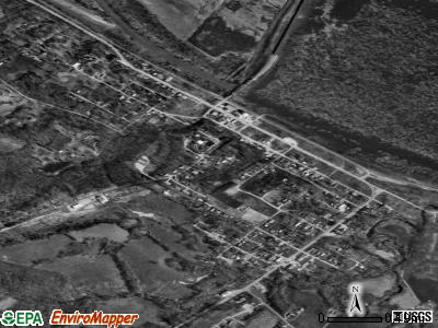 St. Mary satellite photo by USGS