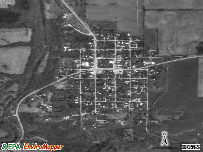 Hartsville satellite photo by USGS