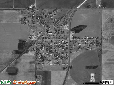 Davidson satellite photo by USGS