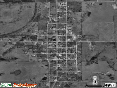 Jennings satellite photo by USGS