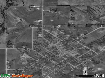 Gridley satellite photo by USGS