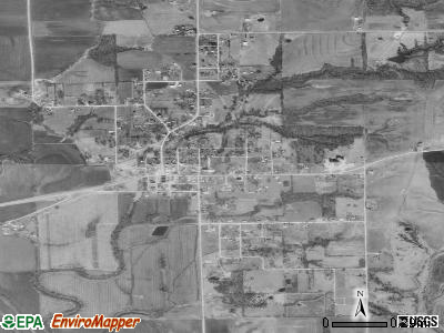 Cainsville satellite photo by USGS