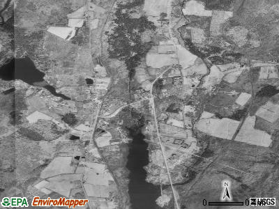 Union Dale satellite photo by USGS