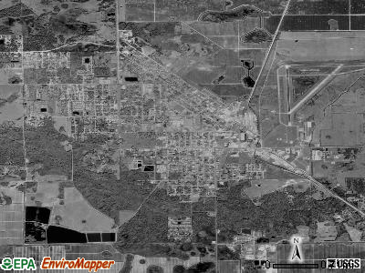 Immokalee satellite photo by USGS