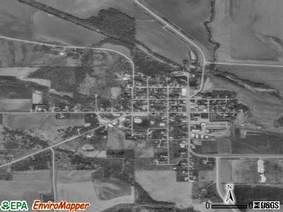 Lynnville satellite photo by USGS