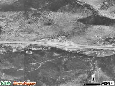 Downieville-Lawson-Dumont satellite photo by USGS