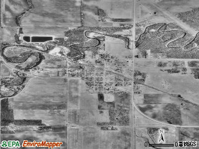 Lancaster satellite photo by USGS