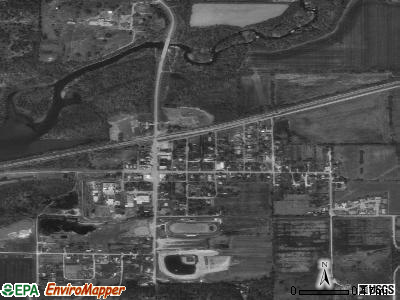 Wyandotte satellite photo by USGS