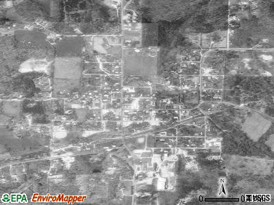 Ellsinore satellite photo by USGS