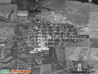 Fillmore satellite photo by USGS