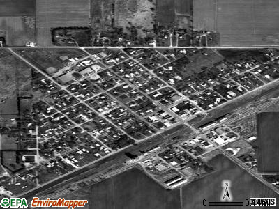 Clarks satellite photo by USGS
