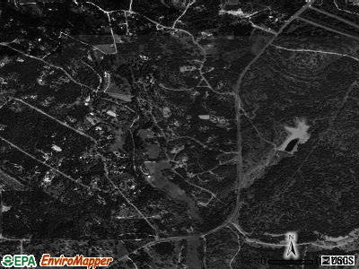 Bear Creek satellite photo by USGS