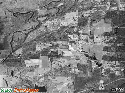 Tull satellite photo by USGS