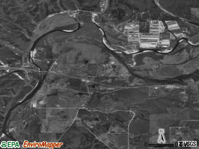 Briggs satellite photo by USGS