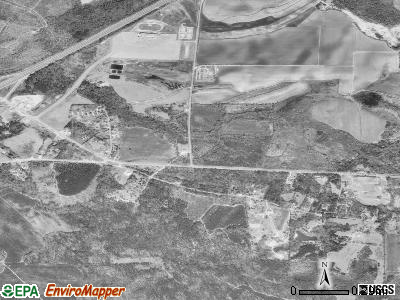 Harmonsburg satellite photo by USGS