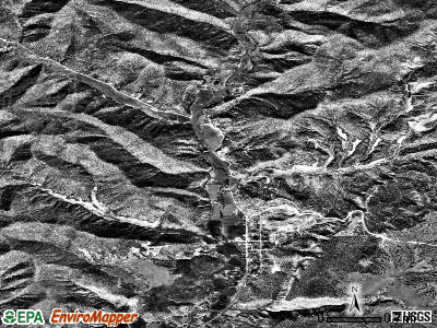 Glendale satellite photo by USGS