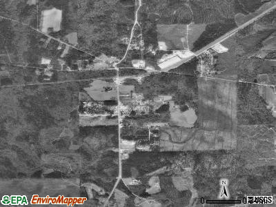 Pennington satellite photo by USGS