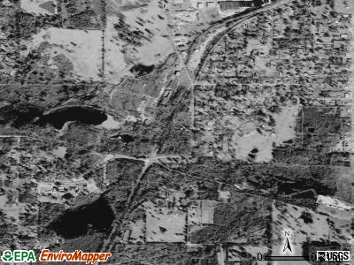 South Mansfield satellite photo by USGS
