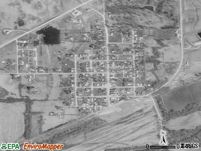 Clarksdale satellite photo by USGS