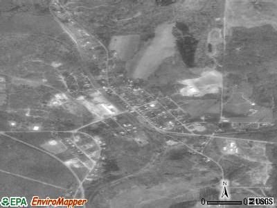 Wallaceton satellite photo by USGS