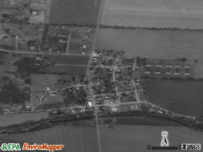 Tremont City satellite photo by USGS