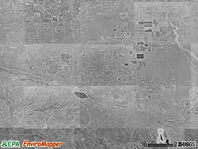 Palmdale satellite photo by USGS