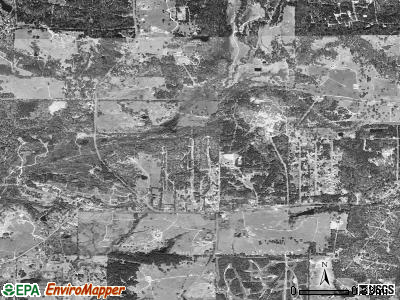 Warren satellite photo by USGS