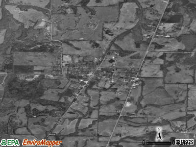 Williston satellite photo by USGS