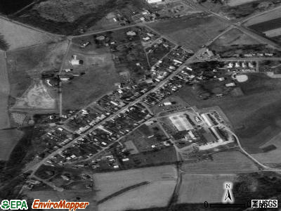 Strausstown satellite photo by USGS