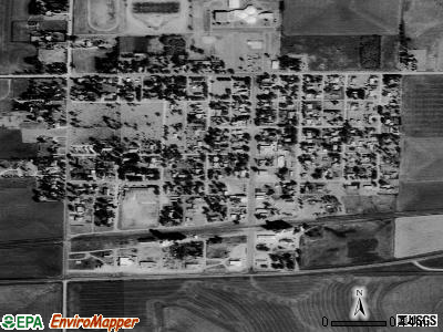 Ransom satellite photo by USGS