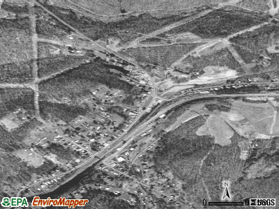 Tunnelton satellite photo by USGS