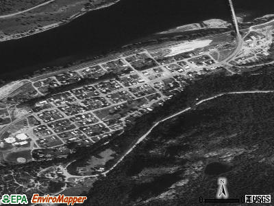 Northport satellite photo by USGS