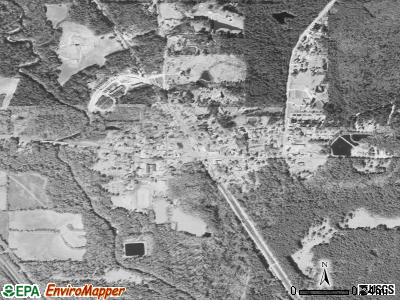 Seminary satellite photo by USGS
