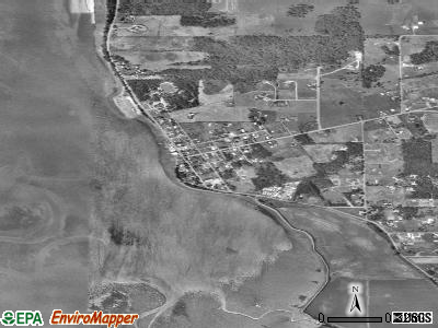 Bay View satellite photo by USGS