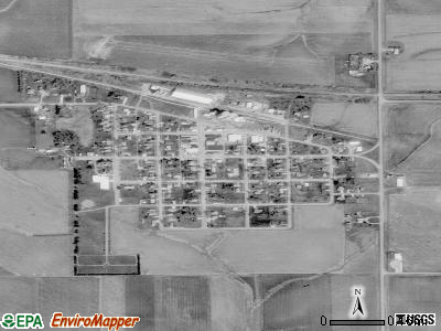 Templeton satellite photo by USGS