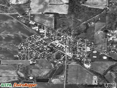 Campbell Hill satellite photo by USGS