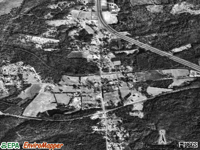 Richburg satellite photo by USGS