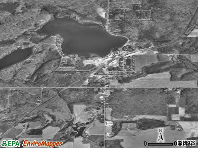 White Lake satellite photo by USGS